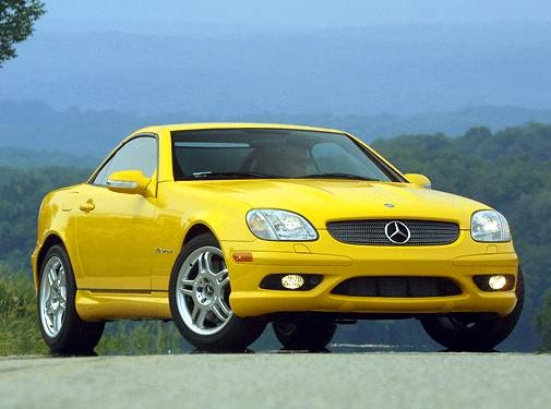 Highest Horsepower Convertibles of 2003 - 2003 Mercedes-Benz SLK-Class