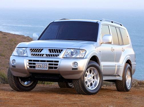 Top Consumer Rated SUVS of 2003 - 2003 Mitsubishi Montero