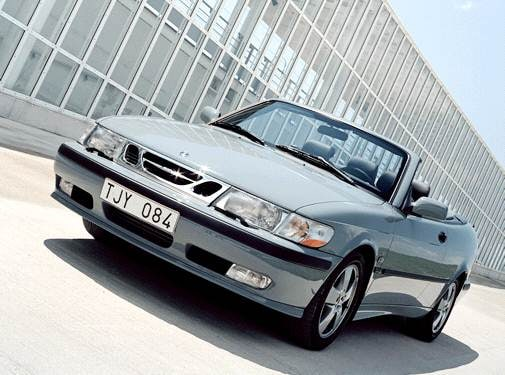Most Fuel Efficient Convertibles of 2003 - 2003 Saab 9-3