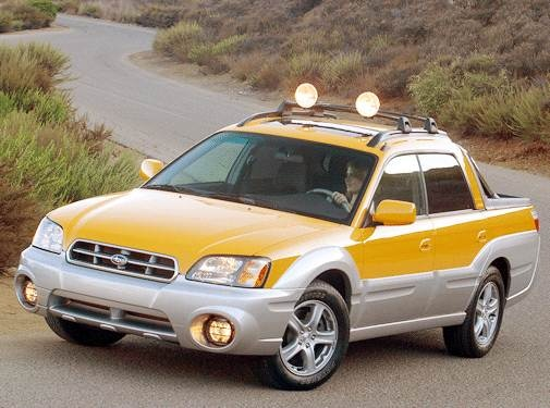 Top Consumer Rated SUVS of 2003 - 2003 Subaru Baja