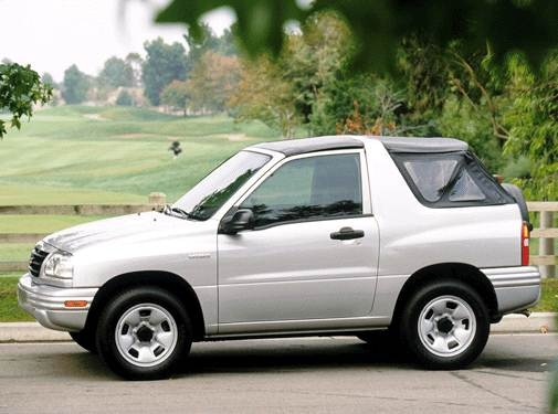 Most Fuel Efficient Crossovers of 2003 - 2003 Suzuki Vitara