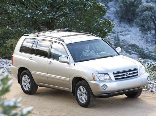 Most Popular Crossovers of 2003 - 2003 Toyota Highlander