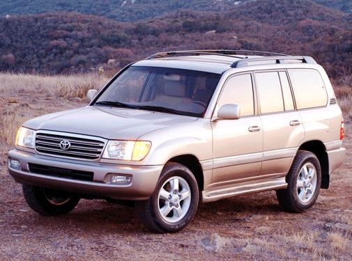 Top Consumer Rated SUVS of 2003 - 2003 Toyota Land Cruiser