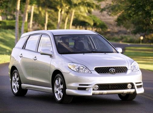 Top Consumer Rated Hatchbacks of 2003 - 2003 Toyota Matrix
