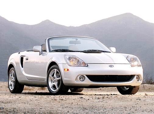 Most Fuel Efficient Convertibles of 2003 - 2003 Toyota MR2