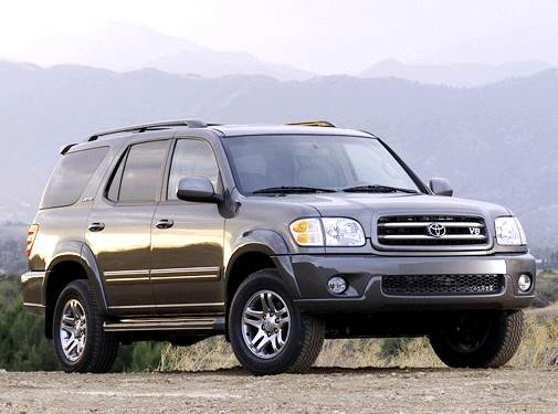 Top Consumer Rated SUVS of 2003 - 2003 Toyota Sequoia