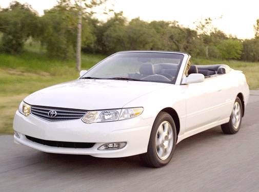 Top Consumer Rated Convertibles of 2003 - 2003 Toyota Solara