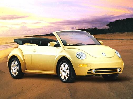 Most Fuel Efficient Convertibles of 2003 - 2003 Volkswagen New Beetle