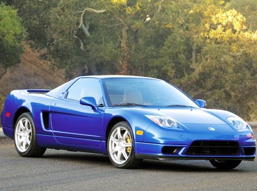 Highest Horsepower Coupes of 2004 - 2004 Acura NSX