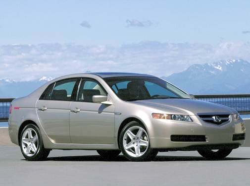 Top Consumer Rated Sedans of 2004 - 2004 Acura TL