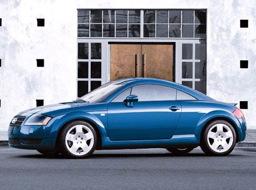 Highest Horsepower Hatchbacks of 2004 - 2004 Audi TT