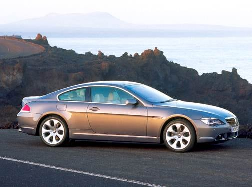Highest Horsepower Coupes of 2004 - 2004 BMW 6 Series