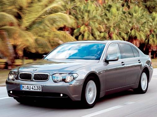 Highest Horsepower Luxury Vehicles of 2004 - 2004 BMW 7 Series