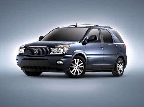 Most Fuel Efficient Crossovers of 2004 - 2004 Buick Rendezvous