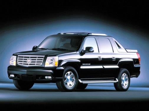 Top Consumer Rated Trucks of 2004 - 2004 Cadillac Escalade EXT