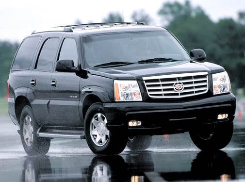 Top Consumer Rated SUVS of 2004 - 2004 Cadillac Escalade