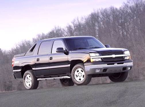 Top Consumer Rated SUVS of 2004 - 2004 Chevrolet Avalanche 1500