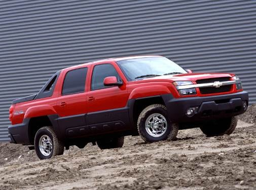 Top Consumer Rated SUVS of 2004 - 2004 Chevrolet Avalanche 2500