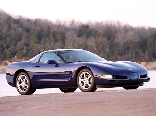 Highest Horsepower Hatchbacks of 2004 - 2004 Chevrolet Corvette