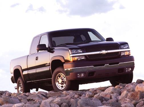 Top Consumer Rated Trucks of 2004 - 2004 Chevrolet Silverado 2500 HD Extended Cab