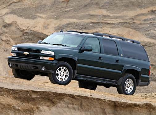 Top Consumer Rated SUVS of 2004 - 2004 Chevrolet Suburban 1500