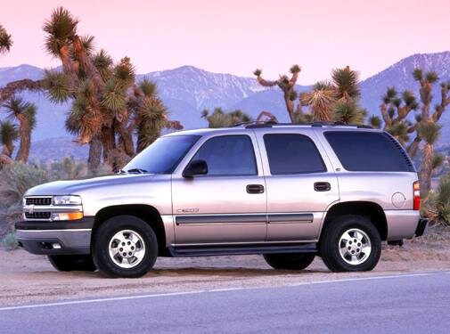 Top Consumer Rated SUVS of 2004 - 2004 Chevrolet Tahoe
