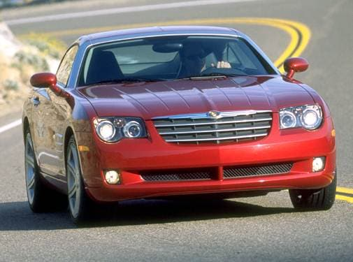 Highest Horsepower Hatchbacks of 2004 - 2004 Chrysler Crossfire