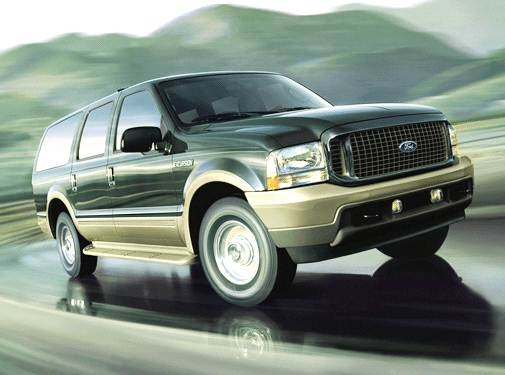 Top Consumer Rated SUVS of 2004 - 2004 Ford Excursion