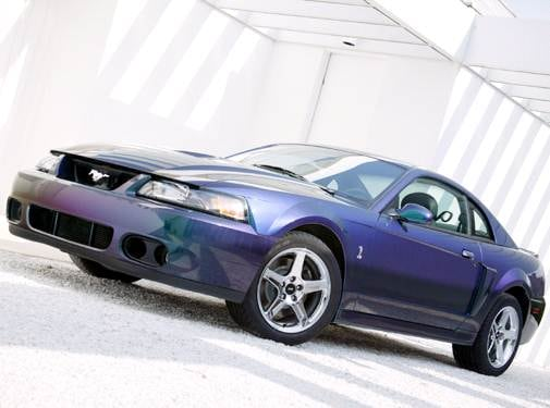 Highest Horsepower Coupes of 2004 - 2004 Ford Mustang