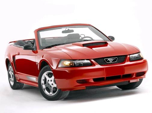 Most Popular Convertibles of 2004 - 2004 Ford Mustang