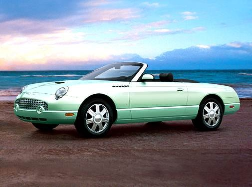 Top Consumer Rated Convertibles of 2004 - 2004 Ford Thunderbird