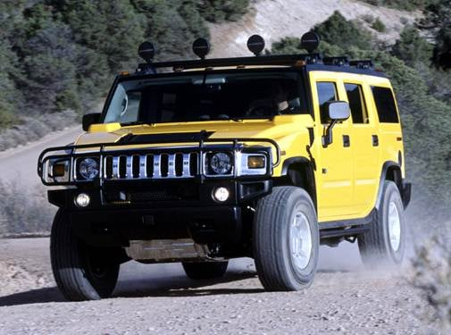 Top Consumer Rated SUVS of 2004 - 2004 HUMMER H2