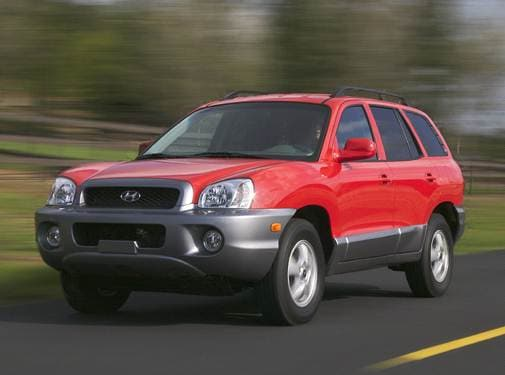 Most Fuel Efficient Crossovers of 2004 - 2004 Hyundai Santa Fe