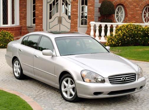 Top Consumer Rated Sedans of 2004 - 2004 INFINITI Q