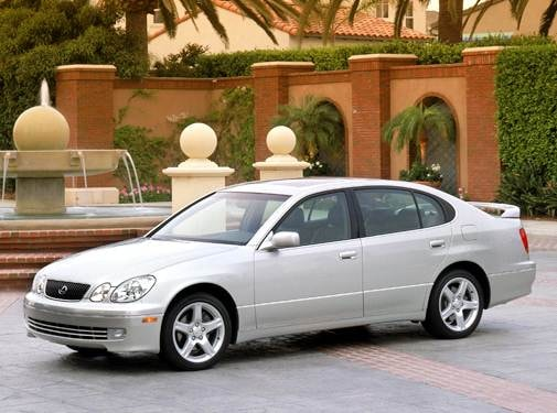 Top Consumer Rated Sedans of 2004 - 2004 Lexus GS