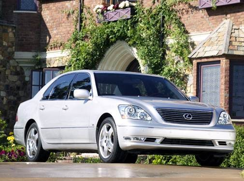 Top Consumer Rated Sedans of 2004 - 2004 Lexus LS