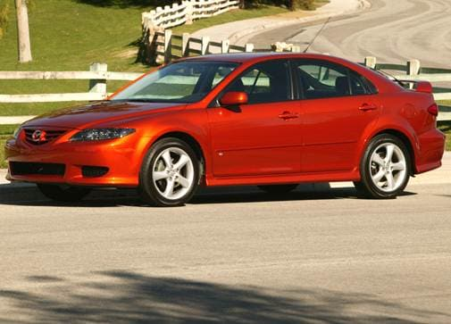 Highest Horsepower Hatchbacks of 2004 - 2004 Mazda MAZDA6