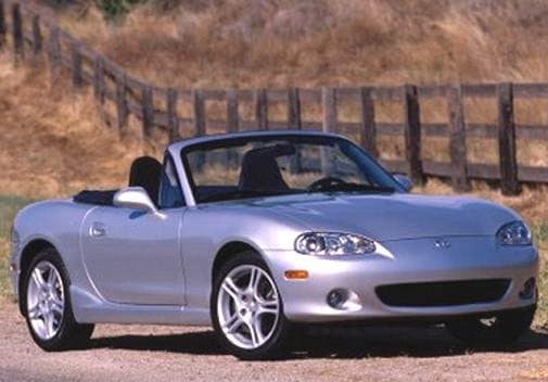 Most Fuel Efficient Convertibles of 2004 - 2004 Mazda MX-5 Miata