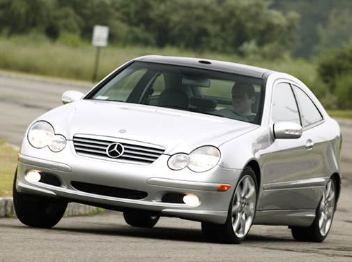 Highest Horsepower Hatchbacks of 2004 - 2004 Mercedes-Benz C-Class