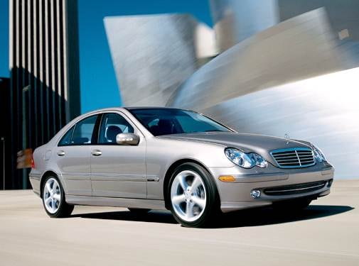 Most Popular Luxury Vehicles of 2004 - 2004 Mercedes-Benz C-Class