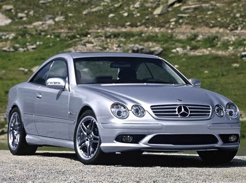 Highest Horsepower Coupes of 2004 - 2004 Mercedes-Benz CL-Class
