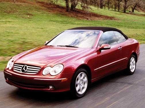 Most Fuel Efficient Convertibles of 2004 - 2004 Mercedes-Benz CLK-Class