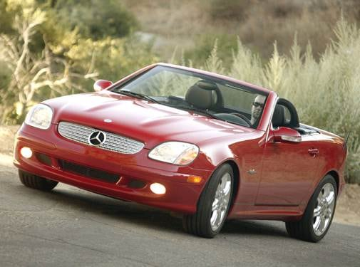 Most Fuel Efficient Convertibles of 2004 - 2004 Mercedes-Benz SLK-Class