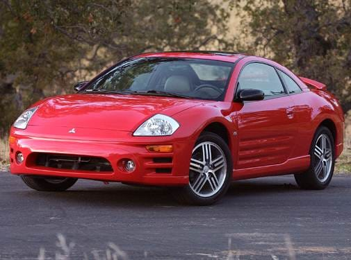 Highest Horsepower Hatchbacks of 2004 - 2004 Mitsubishi Eclipse