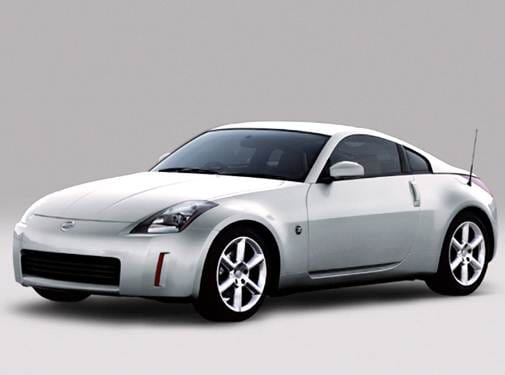 Highest Horsepower Hatchbacks of 2004 - 2004 Nissan 350Z