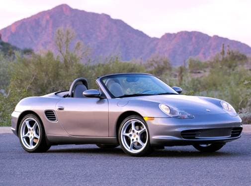 Most Fuel Efficient Convertibles of 2004 - 2004 Porsche Boxster