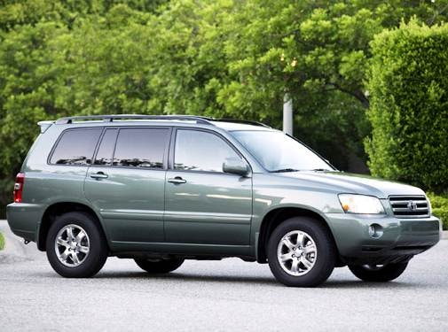 Top Consumer Rated SUVS of 2004 - 2004 Toyota Highlander