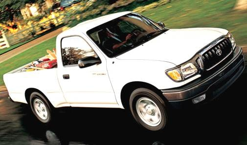 Top Consumer Rated Trucks of 2004 - 2004 Toyota Tacoma Regular Cab