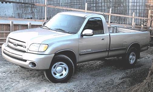 Top Consumer Rated Trucks of 2004 - 2004 Toyota Tundra Regular Cab