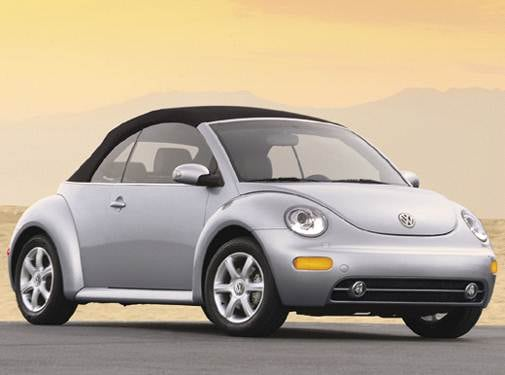 Most Fuel Efficient Convertibles of 2004 - 2004 Volkswagen New Beetle
